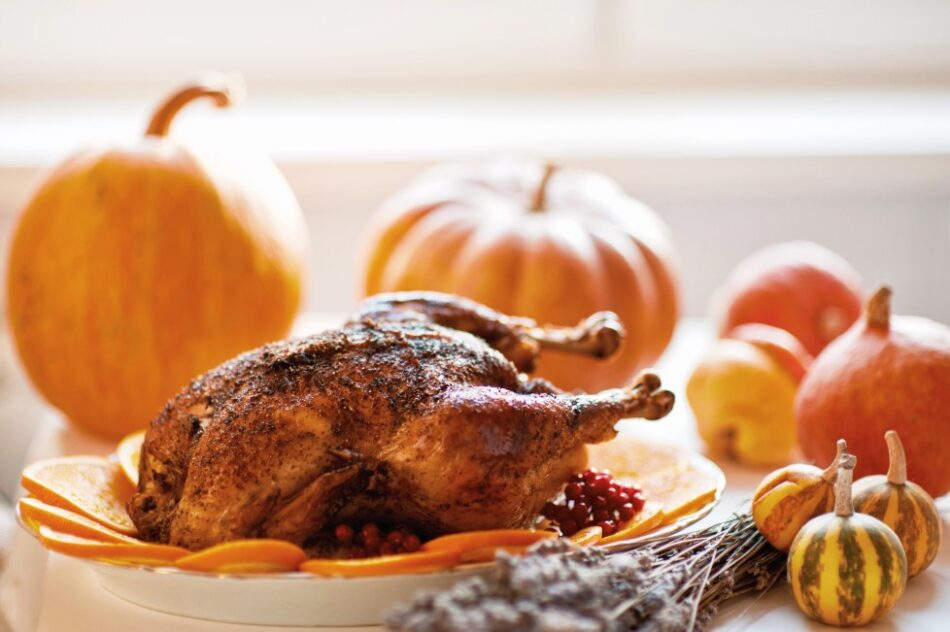 Thanksgiving Foods Good for Your Skin