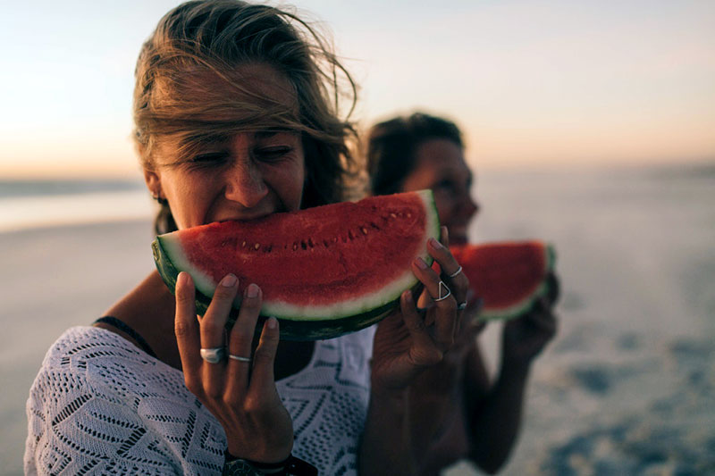Foods that Help Sunburn